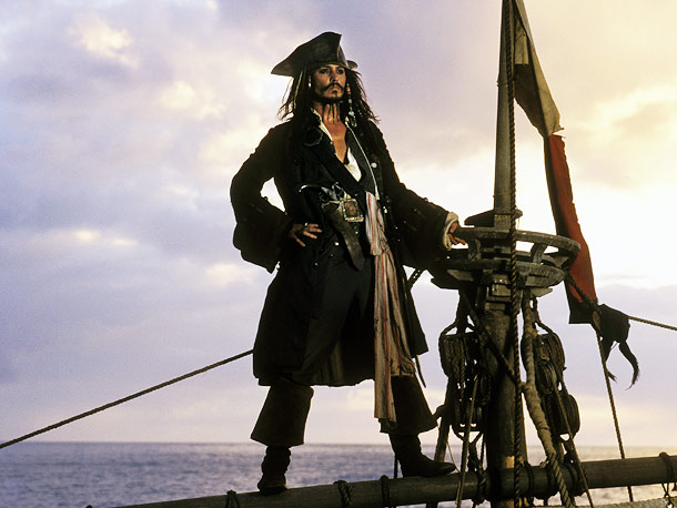Pirates of the Caribbean: The Curse of the Black Pearl, Johnny Depp   Why We'd Follow Him Anywhere: In addition to bearing a striking resemblance to Johnny Depp, this is the one captain for whom we'd willingly climb…