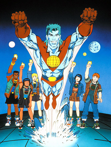 Why We'd Follow Him Anywhere: If anyone besides Al Gore is going to save the Earth, it's Captain Planet. The green-haired (yes, even his hair…