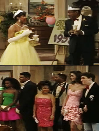 The Cosby Show | Before he played Shirley's baby-daddy on Community , Malcolm-Jamal Warner was in prom-going mode with buddy Adam Sandler during a time when the biggest drama…