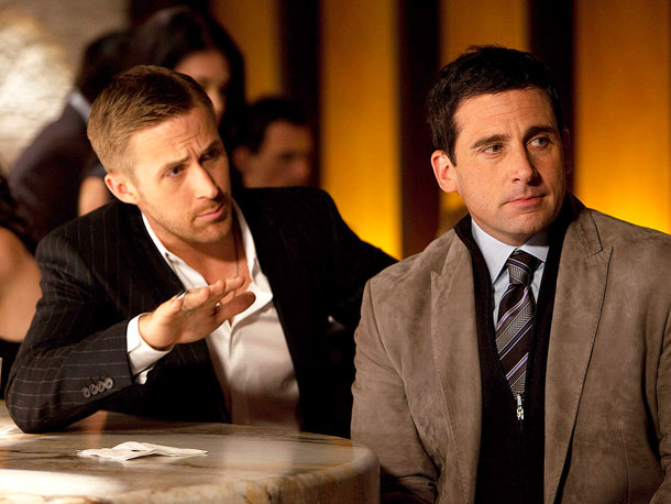 Ryan Gosling, Steve Carell, ... | It's hard for a love comedy to gain much respect these days when it has a hero as mild and defeated as Cal Weaver (…