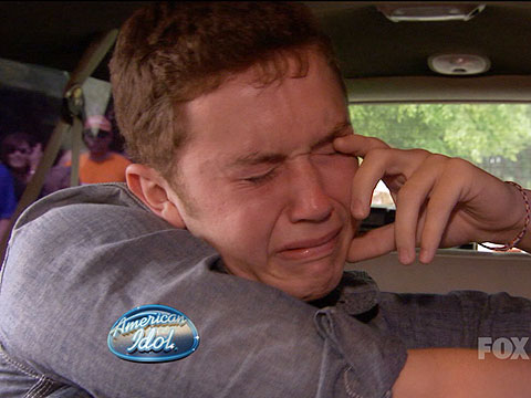 Scotty McCreery | Scotty's emotions have remained remarkably even-keeled throughout his Idol journey — until his trip back home to Garner, N.C. Looking out of his limo at…