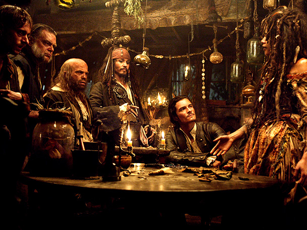 Pirates of the Caribbean: Dead Man's Chest, Johnny Depp | The second and third Pirates of the Caribbean movies had a unique problem: They suffered from too much continuity, bringing back basically every character from…
