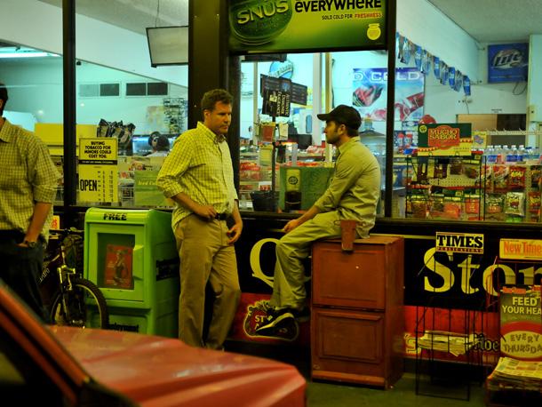 Will Ferrell and Dan Rush