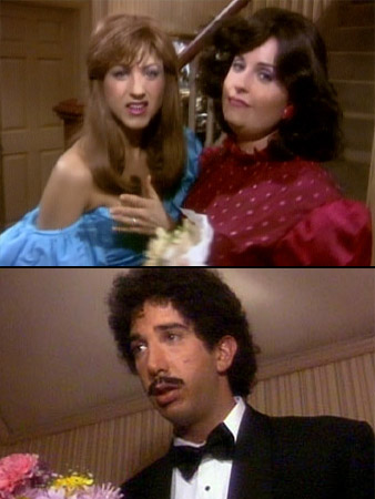Friends, David Schwimmer, ... | So we never technically saw the prom, but instead we got lots of secrets (real noses, real body types, prom heartbreak). And we all know…