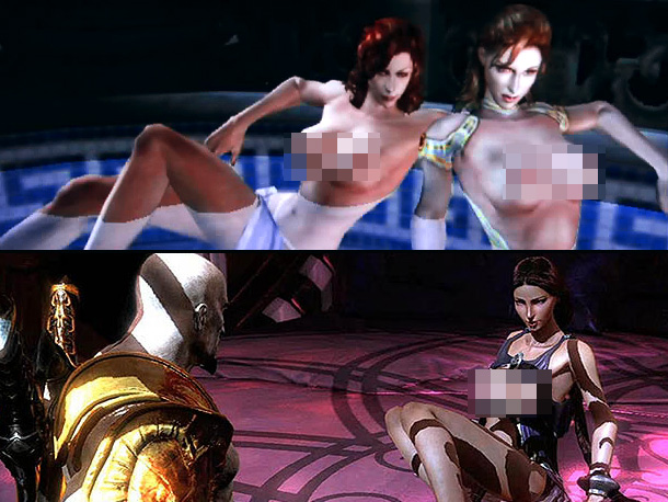 God of War 2 and 3, Sultry Pool Vixens and the Goddess Aphrodite