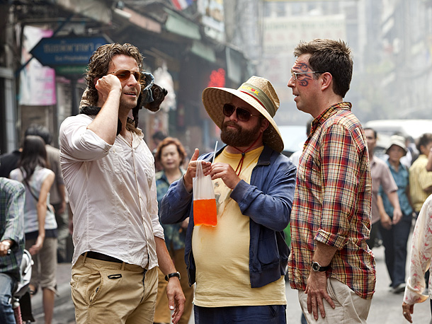 The Hangover Part II | In the R-rated sequel to 2009's Hangover (which took in a staggering $467.5 million), Phil (Cooper), Alan (Galifianakis), and Stu (the tattooed Helms) travel to…