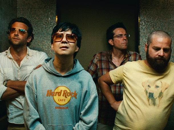 Bradley Cooper, Ken Jeong, Ed Helms, and Zach Galifianakis