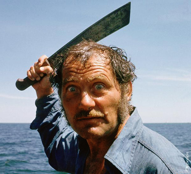 Jaws   Why We'd Follow Him Anywhere: Much like Captain Ahab, we wouldn't want to hang out with Captain Quint until the bitter end (call us wimps,…