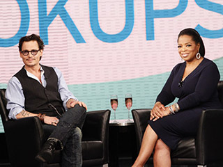 Johnny Depp Oprah