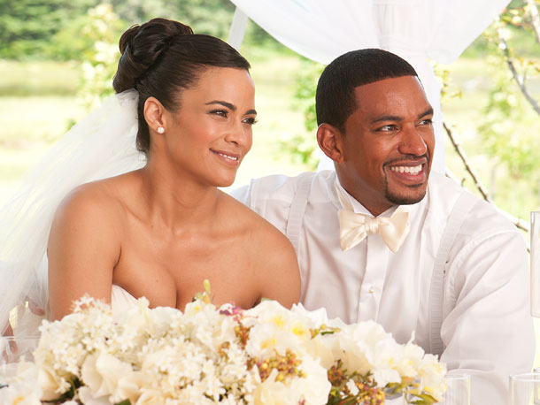 Paula Patton and Laz Alonso