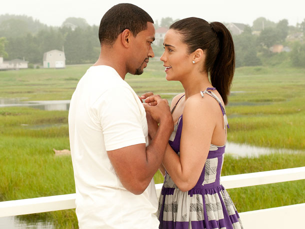 Laz Alonso and Paula Patton