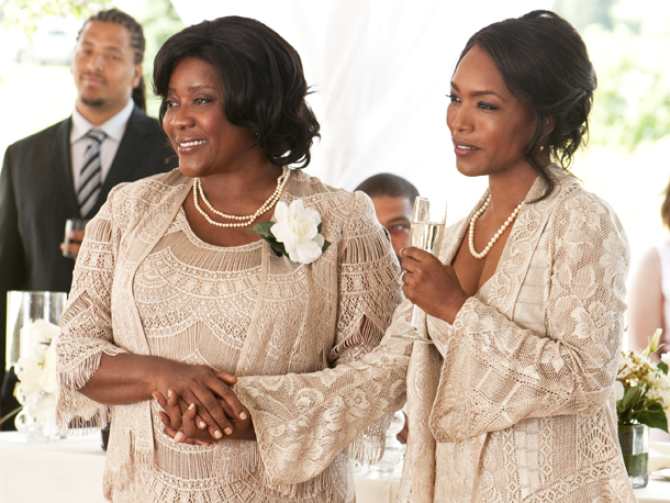 Loretta Devine and Angela Bassett