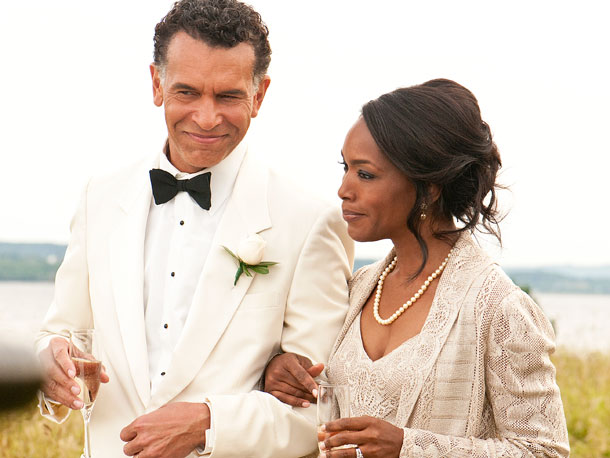 Brian Stokes Mitchell and Angela Bassett