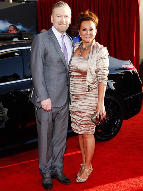 Kenneth Branagh and Lindsay Branagh