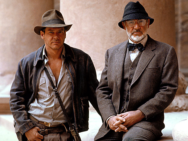 Indiana Jones and the Last Crusade, Harrison Ford | Indiana Jones and the Last Crusade repeats some of the best elements of Raiders of the Lost Ark : Christian artifact, Middle Eastern setting, the…