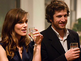 Guillaume Canet, Keira Knightley | CONFRONTED BY TEMPTATION Keira Knightley and Guillaume Canet are flirting with disaster in Last Night