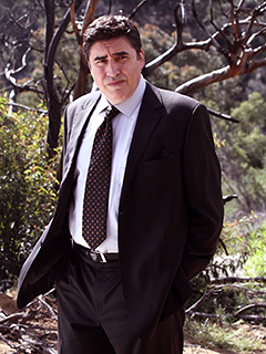 Alfred Molina | SOLVING CRIME Alfred Molina as Det. Ricado Morales in Law & Order: LA