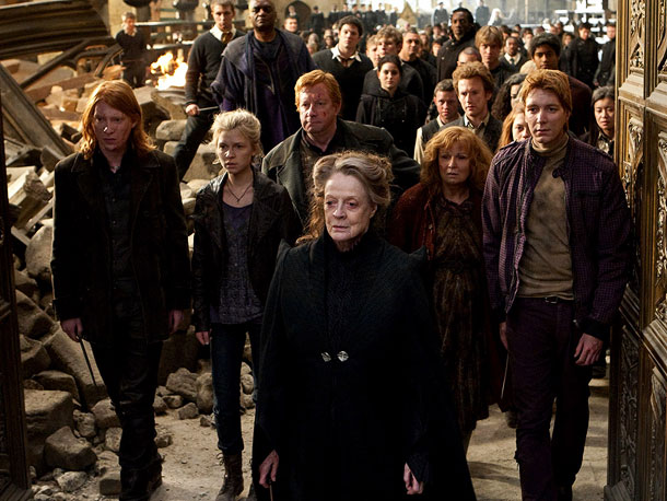 Maggie Smith, Harry Potter and the Deathly Hallows - Part 2 | Playing: Hogwarts Headmistress Minerva McGonagall, professor of transfiguration Oscar-winning Roles: Jean Brodie, a formidable teacher at a cloistered school, in The Prime of Miss Jean…