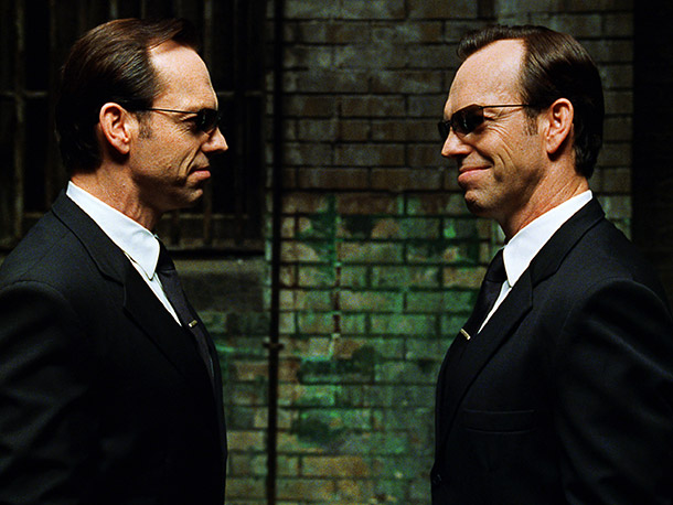 The Matrix Reloaded, Hugo Weaving | Agent Smith was a great villain. Problem: He was destroyed at the end of the first Matrix . The Wachowskis' solution: come up with an…