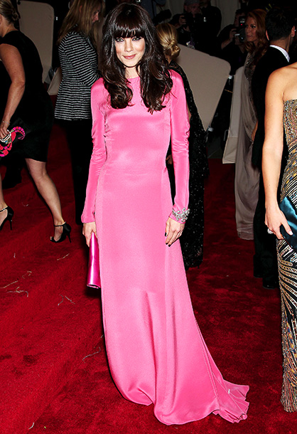 Michelle Monaghan | What's pink and sleek and pretty all over? Michelle Monaghan in Derek Lam. A-