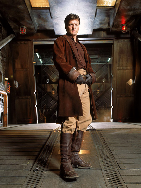 Firefly, Nathan Fillion   Why We'd Follow Him Anywhere: We'll follow any variation of Nathan Fillion, anytime, anywhere. His classic captain — the strong but silent Mal — still…