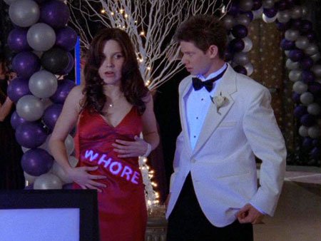 One Tree Hill, Sophia Bush | It's prom One Tree Hill style, meaning girlfights, sex tapes, games of ''duck, duck, b----,'' and dress vandalism. Truly a night to remember. Prom theme:…