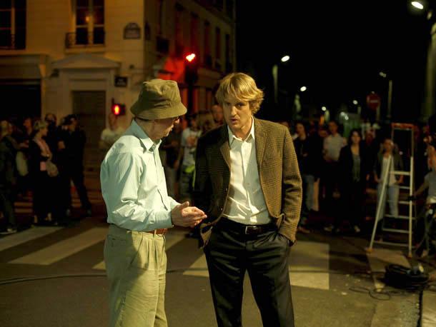 Woody Allen and Owen Wilson