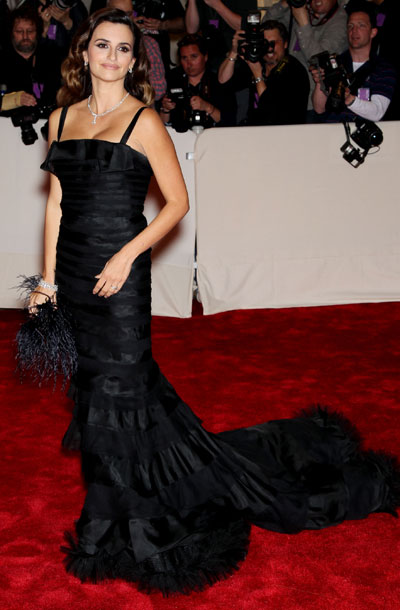 Penelope Cruz | Some stars kept it too simple at the Met Ball, while others, like Cruz, kept it too similar . B