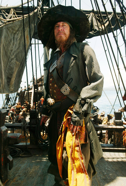 Pirates of the Caribbean   Why We'd Follow Him Anywhere: Every great protagonist needs an equally great antagonist. Barbossa may be cursed and was considered too evil even for hell's…
