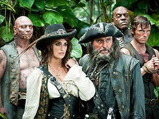 Pirates of the Caribbean: On Stranger Tides, Ian McShane, ...