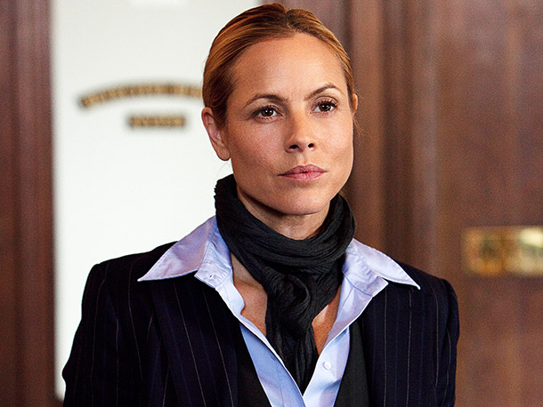 Maria Bello   Maria Bello faces a difficult challenge: Taking over the role Helen Mirren defined from the 1990s onward. But Bello has the good sense to make…