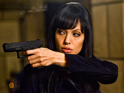 Salt, Angelina Jolie | Salt (2010) This post cold-war Soviet plot thriller worked in large part thanks to her frantic-then-calculating turn as CIA agent Evelyn Salt.