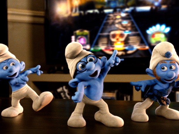 Grouchy, Brainy, and Gutsy Smurf