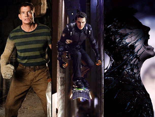 Spider-Man 3 | The first two entries in Sam Raimi's Spider-Man trilogy focused on one iconic villain apiece: first the Green Goblin, then Doctor Octopus. For the third…