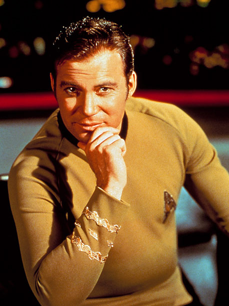 Star Trek, William Shatner   Why We'd Follow Him Anywhere: He's got a great track record (by age 34 he became the youngest captain in Starfleet history) and a loyal…