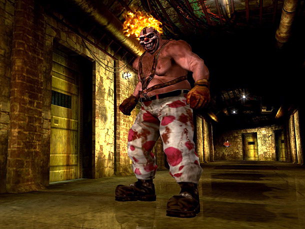 Coolest traits: Twisted Metal 's flagship villain, a psychotic clown on the lam from a Los Angeles mental institution, terrorized the streets behind the wheel…