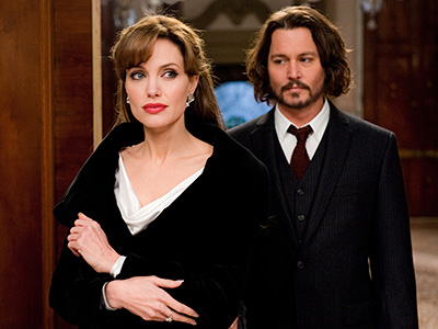 Johnny Depp, Angelina Jolie | The Tourist (2010) Jolie's turn as the mysterious Elise who meets up with Johnny Depp's seemingly hapless traveler earned her a Golden Globe nomination for…
