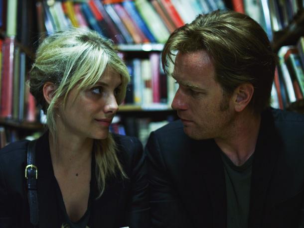 Melanie Laurent and Ewan McGregor
