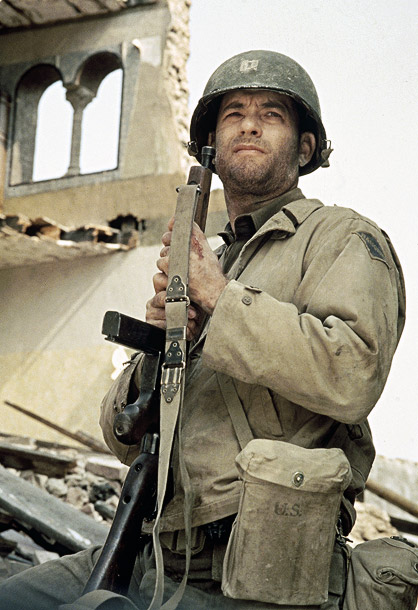 Saving Private Ryan, Tom Hanks   Why We'd Follow Him Anywhere: Two words: ''Earn this.'' If that's not enough to motivate you, on the battlefield or elsewhere, we don't know what…
