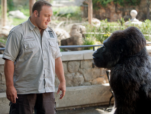 Kevin James | In the high-concept ?family film Zookeeper , Kevin James stars as ?the title character, whose love life gets a helping hand (or paw) from the…