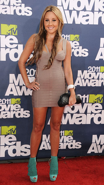 Amanda Bynes | Bynes took a break from acting last summer, but we think a red carpet time-out is the more pressing issue. D-