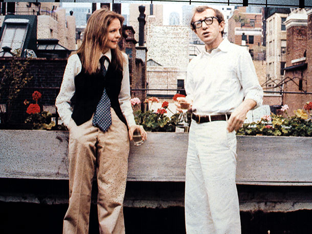 Annie Hall, Diane Keaton, ... | In its initial two-hour-and-30-minute rough cut, Allen's artistic breakthrough was a formless collection of comic bits and pieces. After extensive editing, the 93-minute film that…