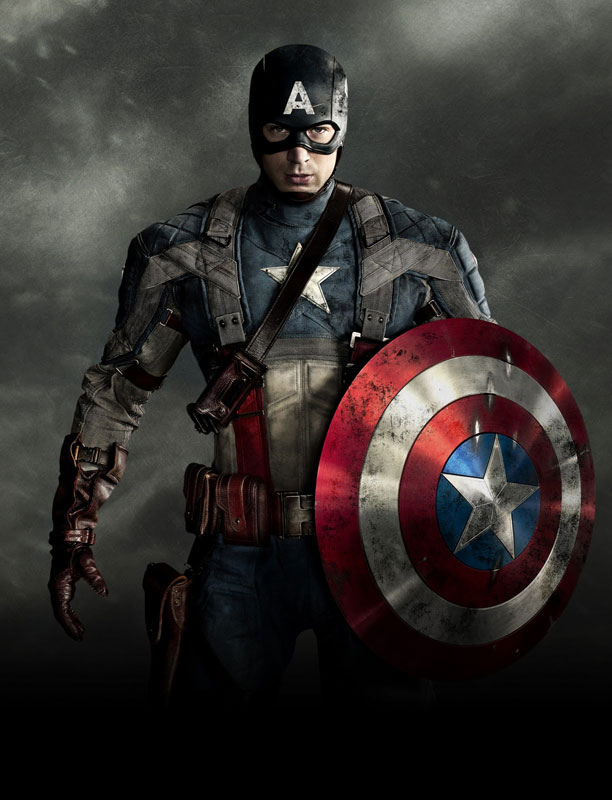 Captain America: The First Avenger | Connie: They did a really good job of blending in the nostalgia aspect. It seems time-appropriate, right down to the material. They didn't go with…
