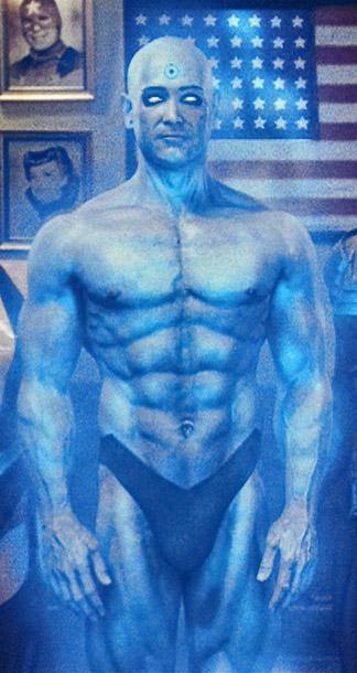 Billy Crudup, Watchmen | If you've got it, flaunt it.