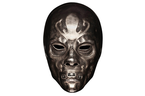 Harry Potter | Each mask worn by Voldemort's followers was a unique design created by conceptual artist Rob Bliss, though their overall look (see the following two) was…
