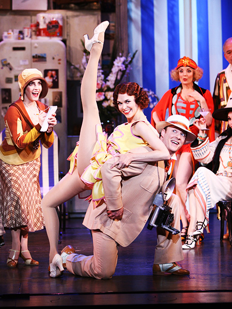 Sutton Foster   Chaperone opens with a lament about the current state of Broadway (and Elton John musicals) from a Jazz Age loving theater queen, then turns into…