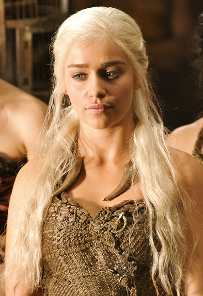 Game of Thrones | Game of Thrones , HBO Why she's sizzling this summer: At the start of Thrones , Clarke's Daenerys was playing a pathetic, meek victim of…