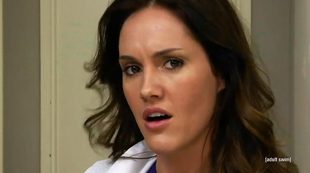 Childrens Hospital , Cartoon Network Why she's sizzling this summer: Hayes' Dr. Lola Spratt is a cartoonishly over-the-top hot lady doctor. She faked her own…