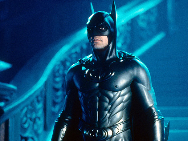 Batman & Robin, George Clooney | Nipples!