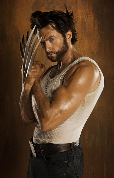 X-Men Origins: Wolverine, Hugh Jackman | With Wolvie, it's all about the leisure wear — specifically, the white tank top that serves as his back-up costume whenever he's not wearing Xavier?…
